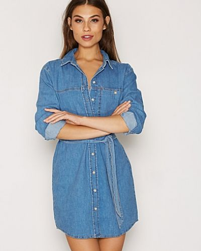 Topshop Denim Shirtdress