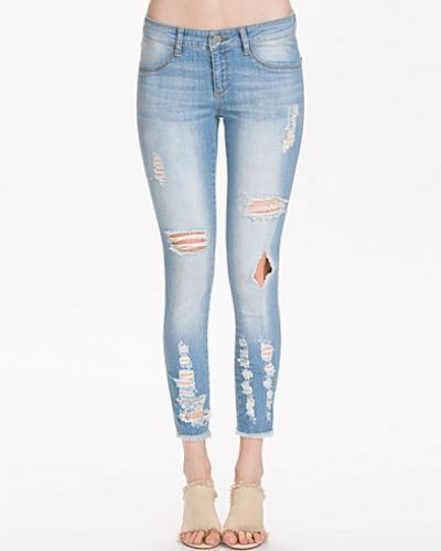 Destroyed Skinny Jeans Notion 1.3 slim fit jeans till dam.