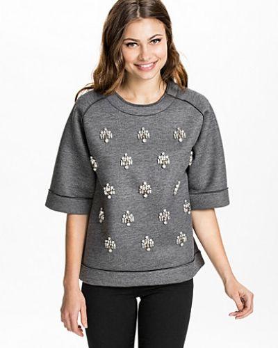 Grå sweatshirts från By Malene Birger till dam.
