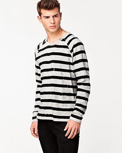Svart sweatshirts från Hope till herr.