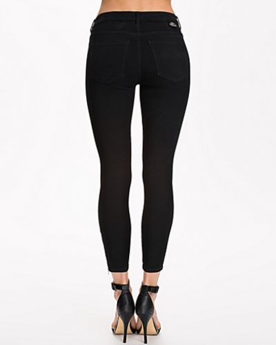 Svart slim fit jeans från Dr Denim till dam.