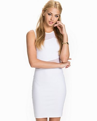 New Look Double Mesh Bodycon Dress