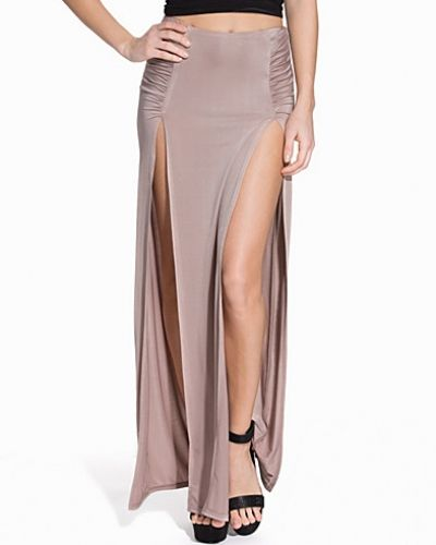 Double Slit Long Skirt NLY One maxikjol till kvinna.
