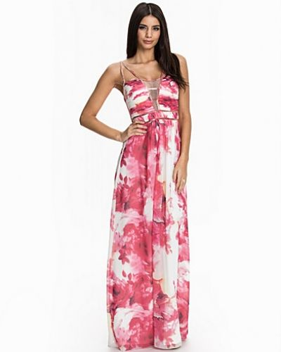 Little Mistress Double Strap Maxi Dress