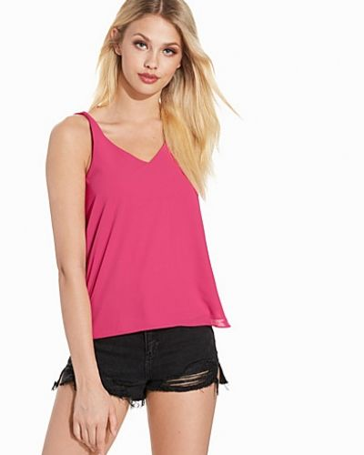 Topshop Double Strap V-Front Cami Top