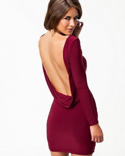 Club L Drape Back Detail Dress