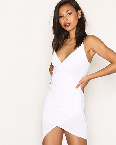 Missguided Drape Wrap Mini Dress