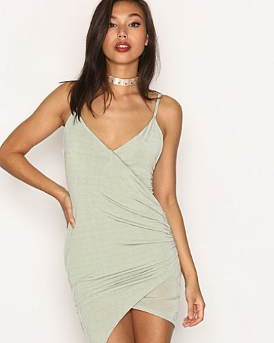 Drape Wrap Mini Dress Missguided miniklänning till dam.