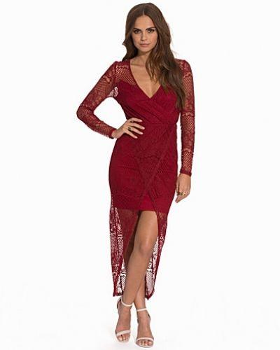 Draped V Front Maxi Dress NLY Trend maxiklänning till dam.