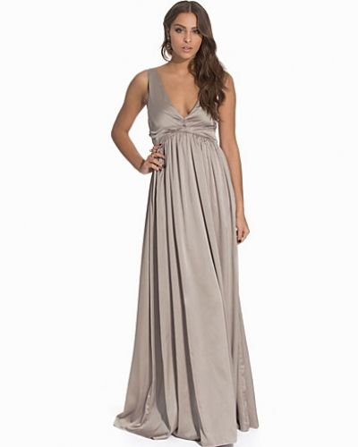 Nly Eve Drapy Satin Gown