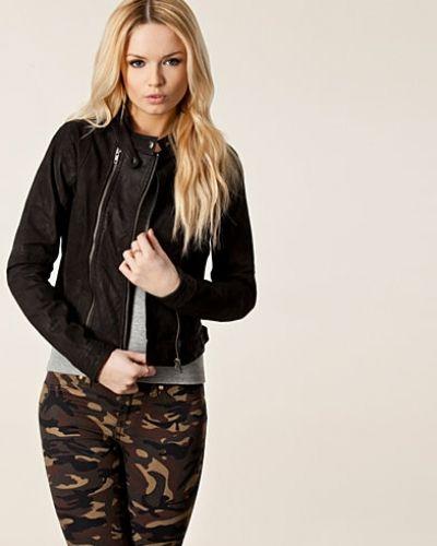 Vero Moda Eboni Short Leather Jacke