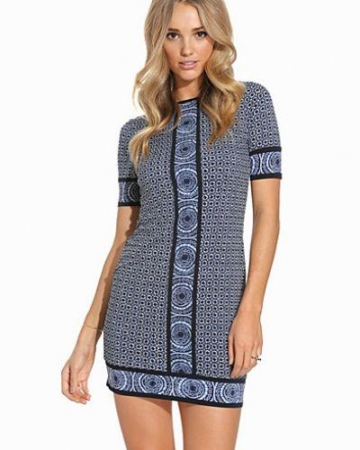 michael kors blå klänning