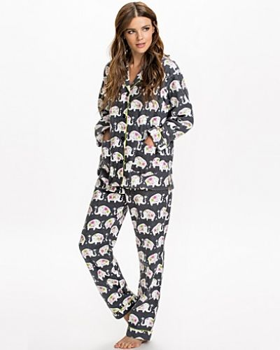 P-J Salvage Elephant Pajama Set