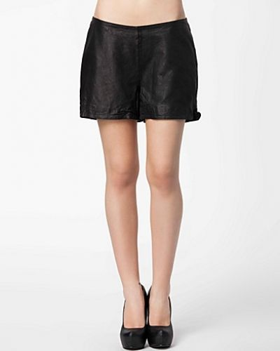 Selected Femme Ellen Leather Shorts