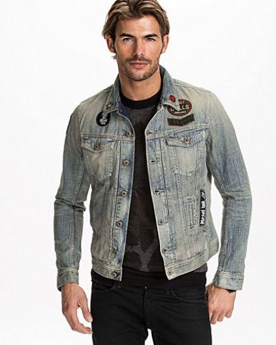 Diesel Väska Herr : Elshar jacket diesel jeansjacka till herr