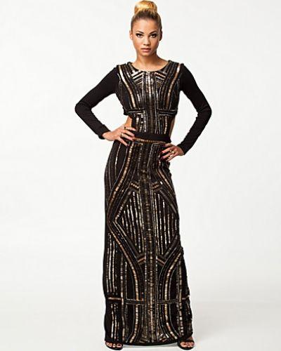 9be262d875ea Långärmad klänning Emb Maxi Dress från River Island