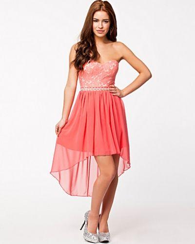 Elise Ryan Embellished Bandeau Dress