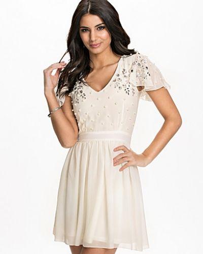Te Amo Embellished Chiffon Mini Dress