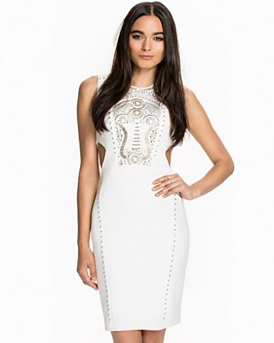 Miss Selfridge Embellished Cut Out Dress