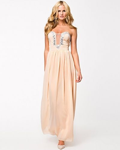 Te Amo Embellished Maxi Dress