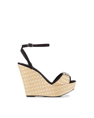 Nly Shoes Embellished Raffle Wedge