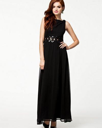 Maxiklänning Embellished Waist Chiffon Dress från Ax Paris