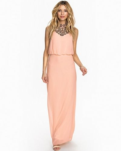 Miss Selfridge Embroidered Neck Maxi
