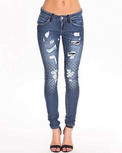 a496cad836b7 Eva BIR1H18D733CN Pants Fornarina slim fit jeans till dam.