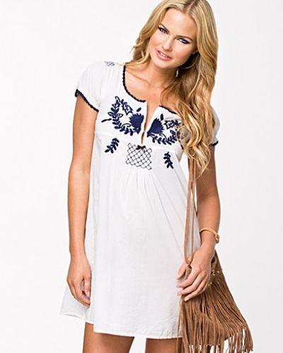 odd molly klänning vit
