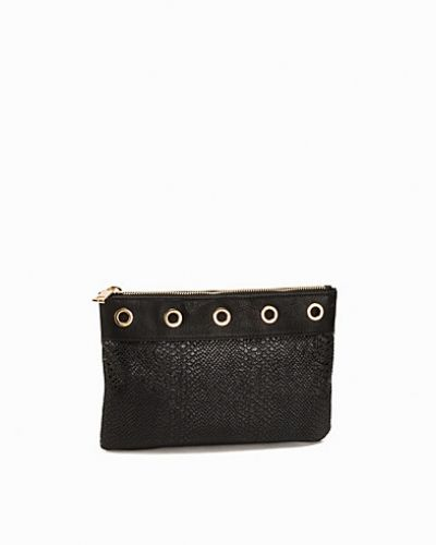Miss Selfridge Eyelet Clutch Bag