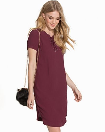 New Look Eyelet Lace Up Tunic