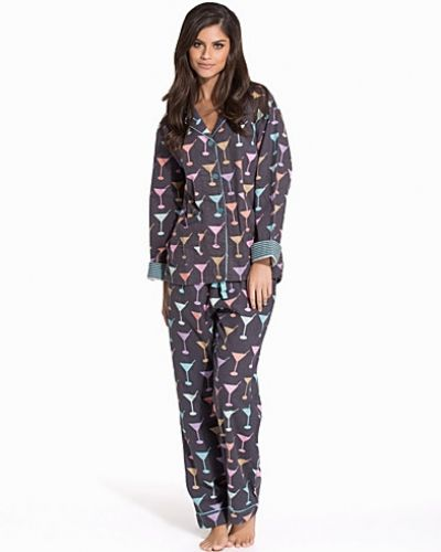 P-J Salvage Fall Into Flannel PJ Set