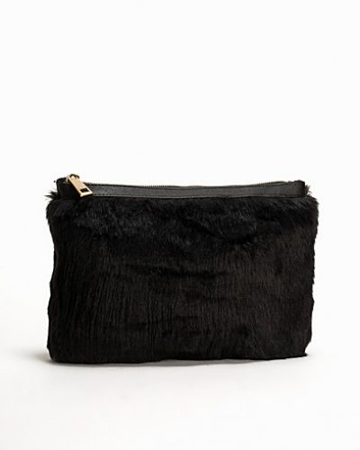 Miss Selfridge Faux Fur Clutch Bag
