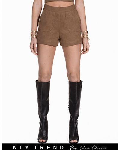 NLY Trend Faux Suede Shorts