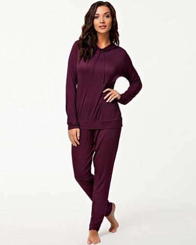 Calvin Klein Feather Light Hooded Pj Top