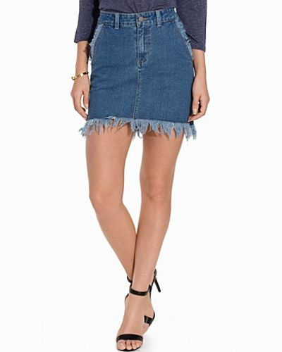 Jeanskjol FIFOME DENIM SKIRT från First And I