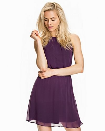 New Look Fiona Chiffon Belt Dress