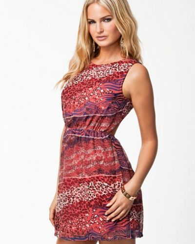 Jeane Blush Fiona Print Dress