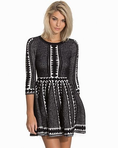 Topshop Fit And Flare Jumper Dress