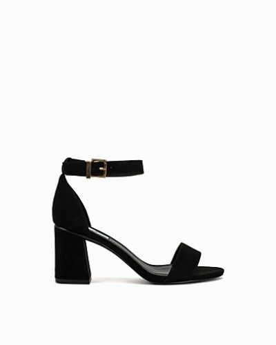 Flared Block Heel Sandal Nly Shoes mid-klack till dam.