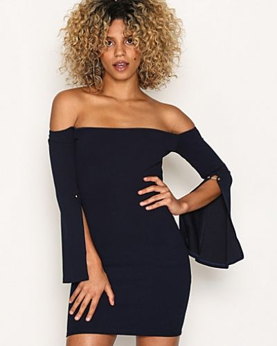 Missguided Flared Sleeve Bodycon Dress
