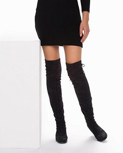 Känga Flat Thigh High Boot från Nly Shoes