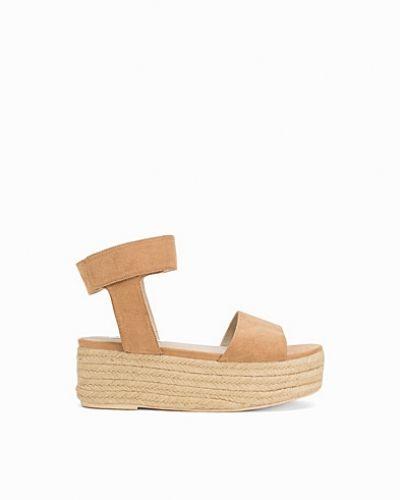 Flatform Rope Sandal Nly Shoes sandal till dam.