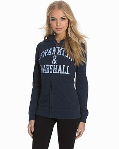 Fleece Zip Franklin & Marshall hoodie till dam.