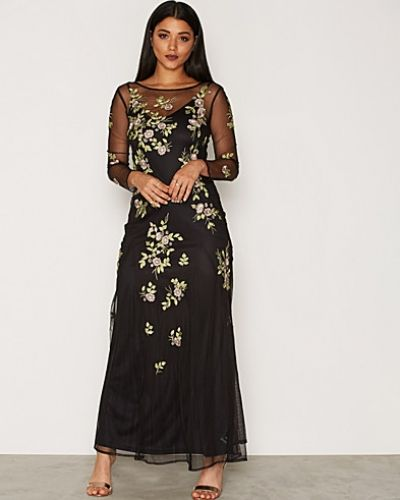 Miss Selfridge Floral Embellished Maxi Dress