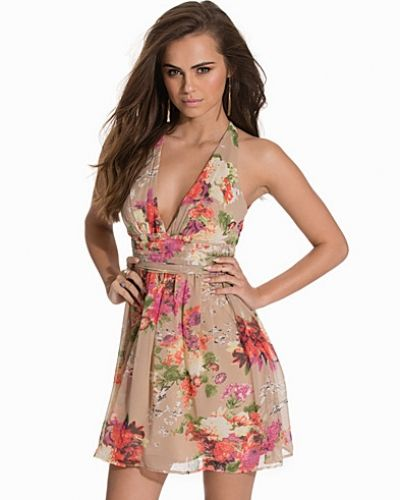 Floral Empire Short Dress NLY One miniklänning till dam.