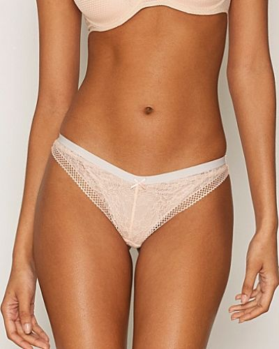 Topshop Floral Geo Lace Brazilian Knickers