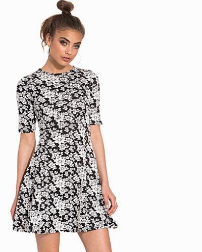 Miss Selfridge Floral Jacquard Skater Dress