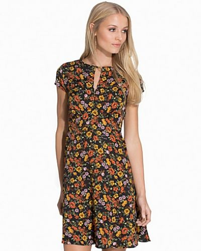 New Look Floral Keyhole Dress