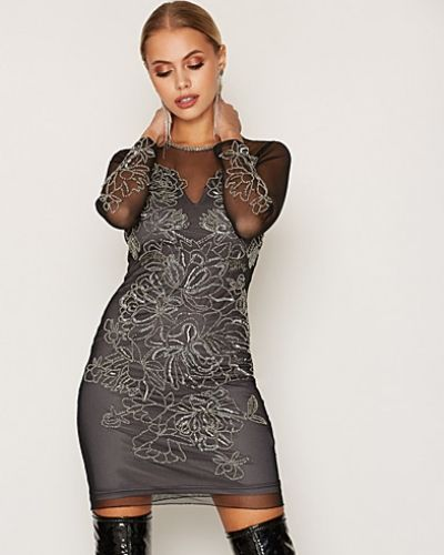 Miss Selfridge Flower Detail Bcon Dress